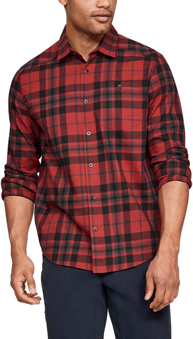 Under Armour 安德玛 Tradesman 吸湿速干 男式法兰绒衬衫 S码2.7折$16.3 海淘转运到手约¥130