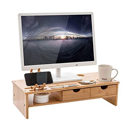 MMM Monitor Stand Multi-Function Engraving Display Increased Office