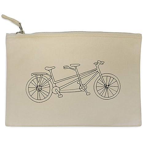 Azeeda Bicicleta Tandem Bolso de Embrague / Accesorios Case (CL00015447)