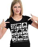 Camiseta BTS Chibi K-pop Camisa Blusa