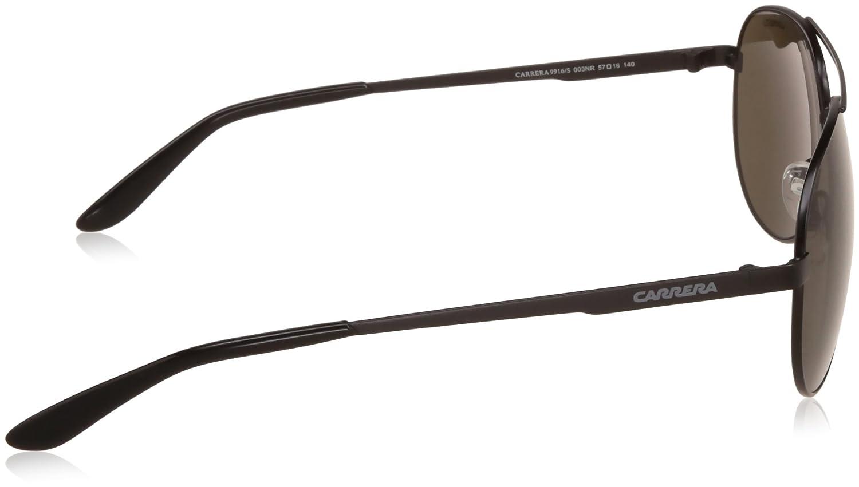 3fee682a95 Carrera UV Protected Aviator Men s Sunglasses - (CARRERA 9916 S 003 57NR