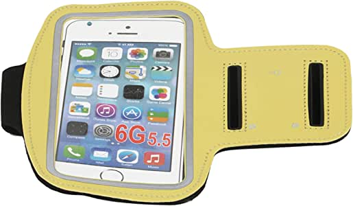 Mobile Phone Arm Pocket, Yellow, Mf296- Y