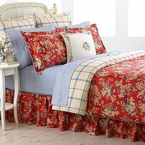 Amazon Com Ralph Lauren Madeline Floral 4 Piece Queen