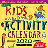 Books : Kid's Awesome Activity Wall Calendar 2020