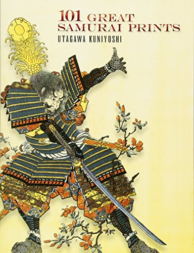 101 Great Samurai Prints (Dover Fine Art, History of Art) (Japanese Art Tattoo)