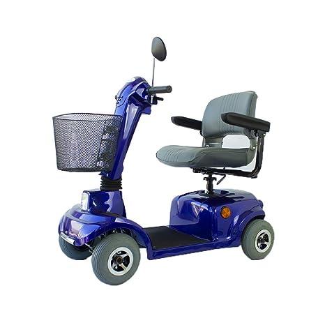 Mobiclinic Scooter eléctrico | con 4 Ruedas | con Asiento | para minusválidos | para Adultos