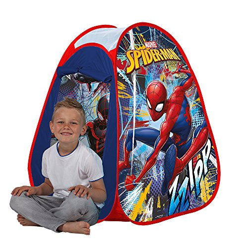 John Children's Pop Up Play Tent Children Tent, Pop-Up Tent Play House with Printed Motif