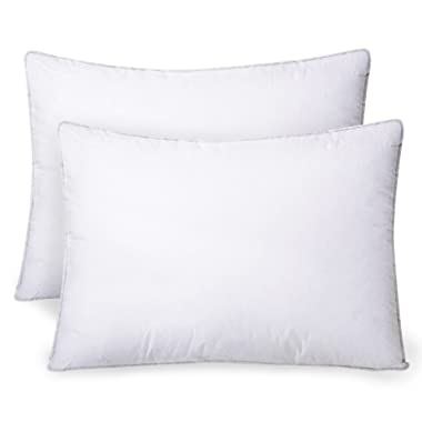 Celeep 2-Pack Bed Pillows - 20  x 26  - 900GSM Ultra Soft Sand Washed Cover, Sleeping Pillows with Lofty Microfiber Filling