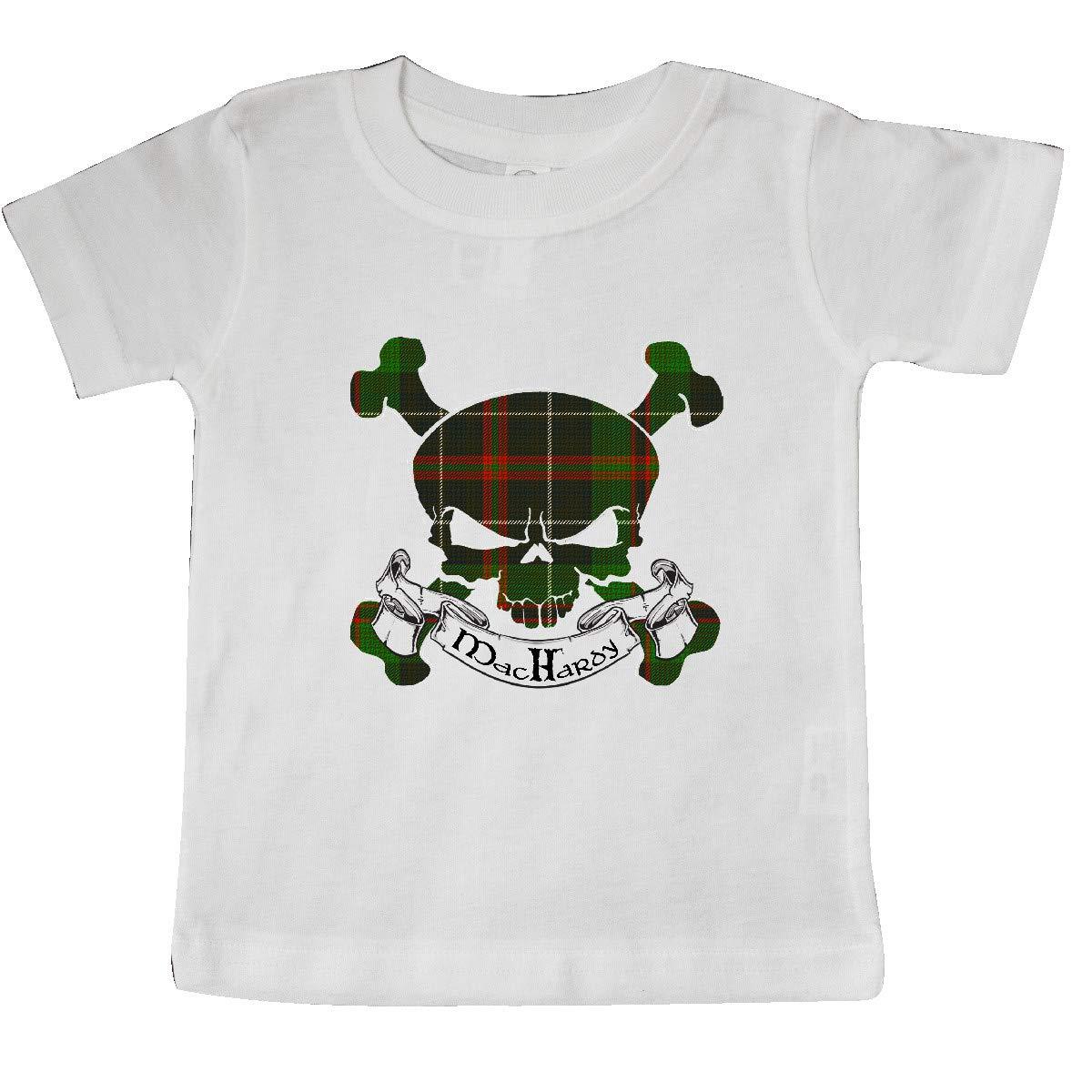 inktastic MacHardy Tartan Skull Baby T-Shirt