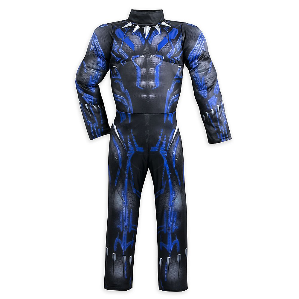 Marvel Black Panther Light-Up Costume for Kids Size 13 2844057908128