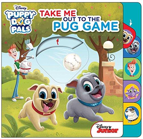 dd3afc68eda0 Disney Little Boys' Toddler Puppy Dog Pals Tee · Disney Puppy Dog Pals:  Take Me Out to the Pug Game