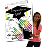Amazon victorystore jumbo greeting cards giant retirement card victorystore jumbo greeting cards giant graduation gift card graduation cap 2 m4hsunfo Gallery