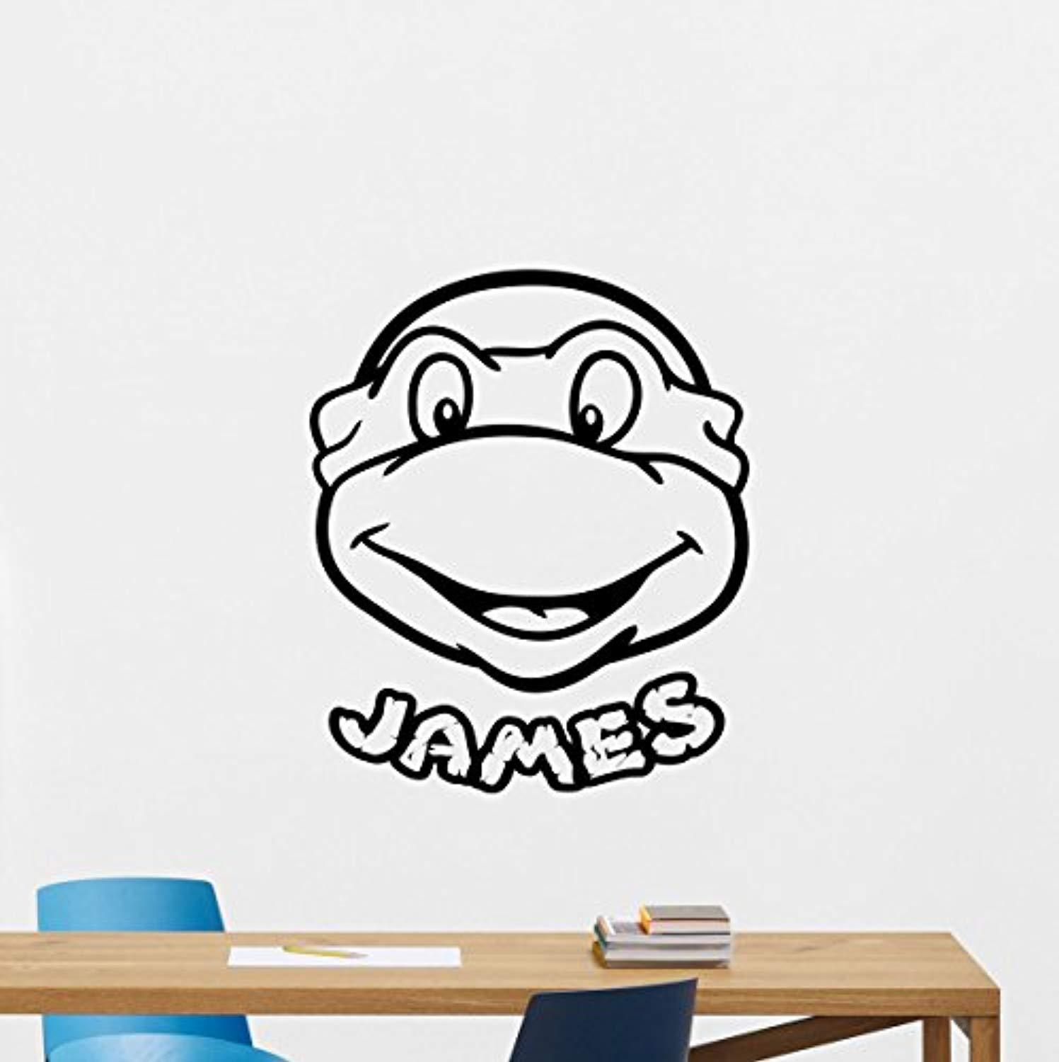Amazon.com: Personalized Ninja Turtles Wall Decal Custom ...