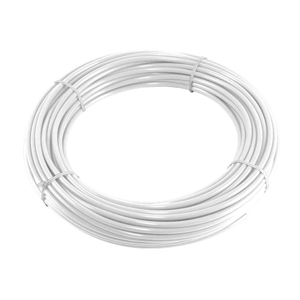 "PureSec 2017 10WP1/4TU-WHI NSF Certified CCK White PE Tubing/Hoses 1/4"" Inch OD x 0.142"" Inch ID at 70°F-120PSI to 150°F-60PSI for RODI Systems"