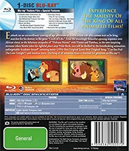 The Lion King [Blu-ray] from Imports