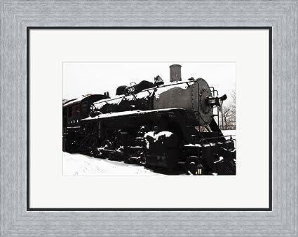 Amazon.com: Winter Layover by Thomas Kerwin Framed Art Print Wall ...