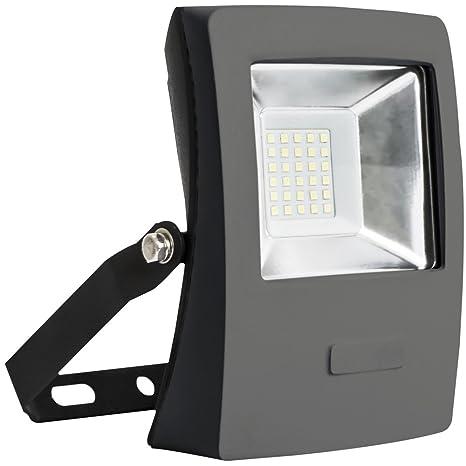 Wonderlamp Proyector LED para Exterior, Luz Fría, 20 W, Blanco ...
