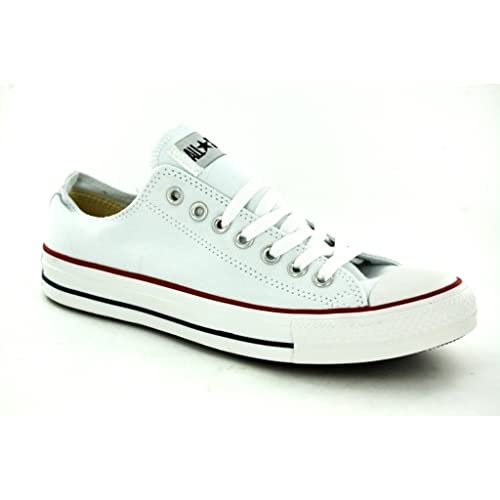 852a805eea73 Converse Unisex Chuck Taylor All Star Ox Sneakers Optical White M7652 (4 D(M