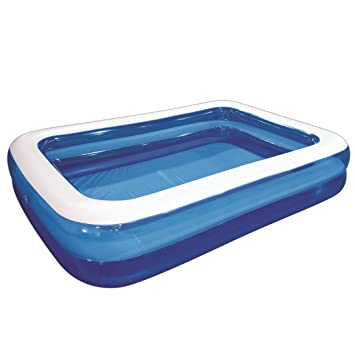 giant inflatable kiddie pool family and kids inflatable rectangular pool 10 feet long - Rectangle Inflatable Pool