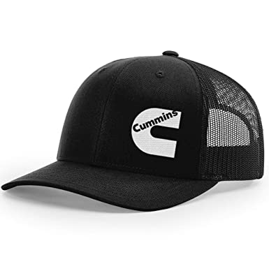 Cummins Diesel Snapback Trucker Hats 112 (Black Black) at Amazon ... 9167ab2ba23
