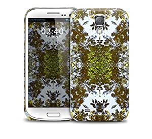 autumn leaves kaleidoscope pattern Samsung Galaxy S4 GS4 protective phone case by lolosakes