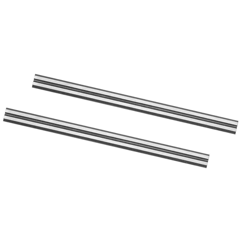 """POWERTEC HSS Blades for 3-1/4"""" Bosch, B&D, Craftsman, DeWalt, Hitachi, Ryobi, and Most Hand-Held Planer"""