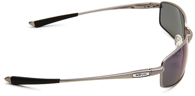 e67443f190 Amazon.com  Revo Men s Efflux RE8002-03 Polarized Square Sunglasses ...