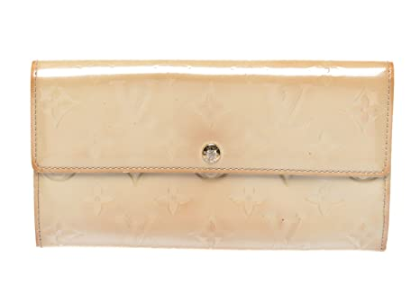 Louis Vuitton - Cartera para mujer beige beige: Amazon.es ...