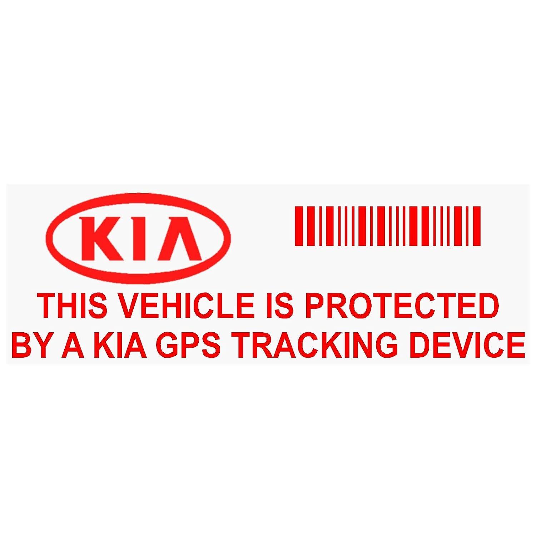 5 x Ppkiagpsred GPS rosso dispositivo di tracciamento finestra adesivi 87, x, Van allarme Tracker Platinum Place