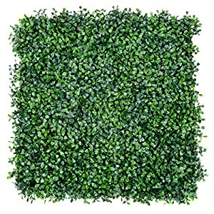 "lunanice 12 Artificial Hedge Plant Privacy Fence Screen Topiary Decorative Wall 20"" x 20"" 92"