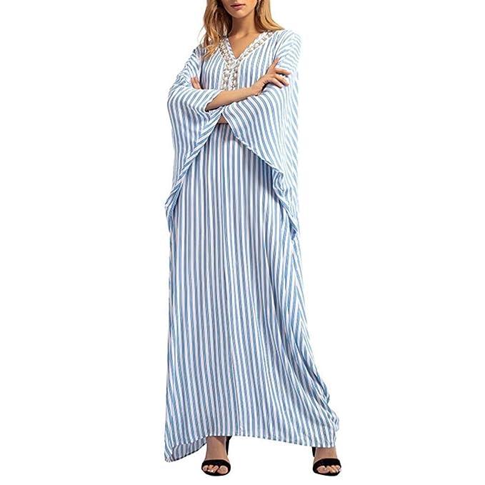 POLP Vestidos Manga Larga Mujer ◉ω◉ Vestidos Mujer Otoño 2018 Mujer Vestido Casual Tallas Grandes de Mujer Verano, Vestido Largo Fiesta Mujer, ...