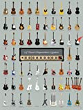 Pop Chart Lab A Visual Compendium of Guitars Poster 46 x 61 cm, mehrfarbig