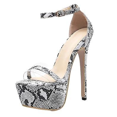Absatz High Feine Heetey Heels Stiletto Frauen Serpentin Mit Damen Snake Heel Sandalen Ferse Aus Peep hrsQtdCx