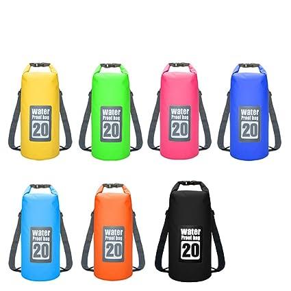 7760128e509d HANTANG 20L 500D Multi Color Outdoor Tarpaulin Heavey-Duty PVC Waterproof  Dry Bag Sack for Kayaking Boating Canoeing Fishing Rafting Swimming Camping   ...