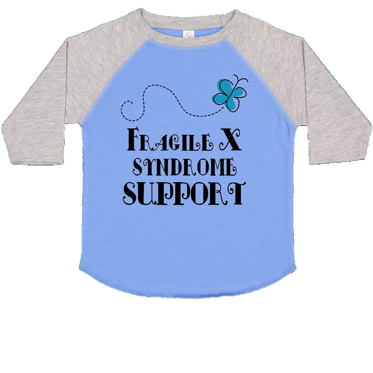 inktastic Fragile X Syndrome Support Butterfly Toddler T-Shirt