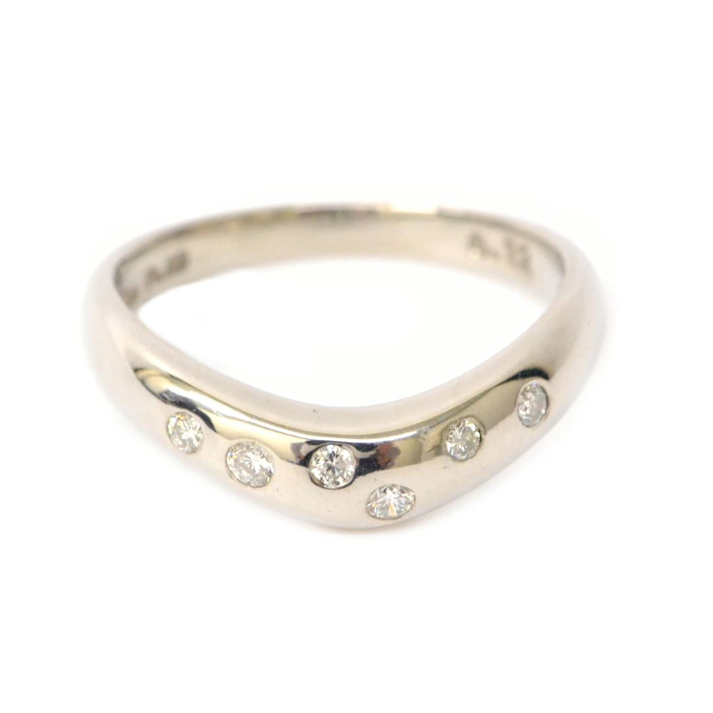 ノーブランド STAR JEWELRY スタージュエリー ダイヤモンド Pt900 プラチナ リング 指輪 10号 レディース 女性 中古 B07D67F9PG