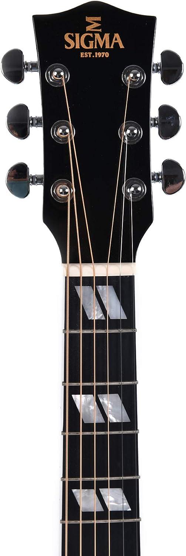 Sigma DM-SG5-BK Custom Shop Limited - Guitarra acústica con ...