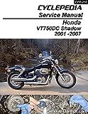 CPP-210 Cyclepedia 2001-2007 Honda VT750DC Shadow Spirit Printed Service Manual