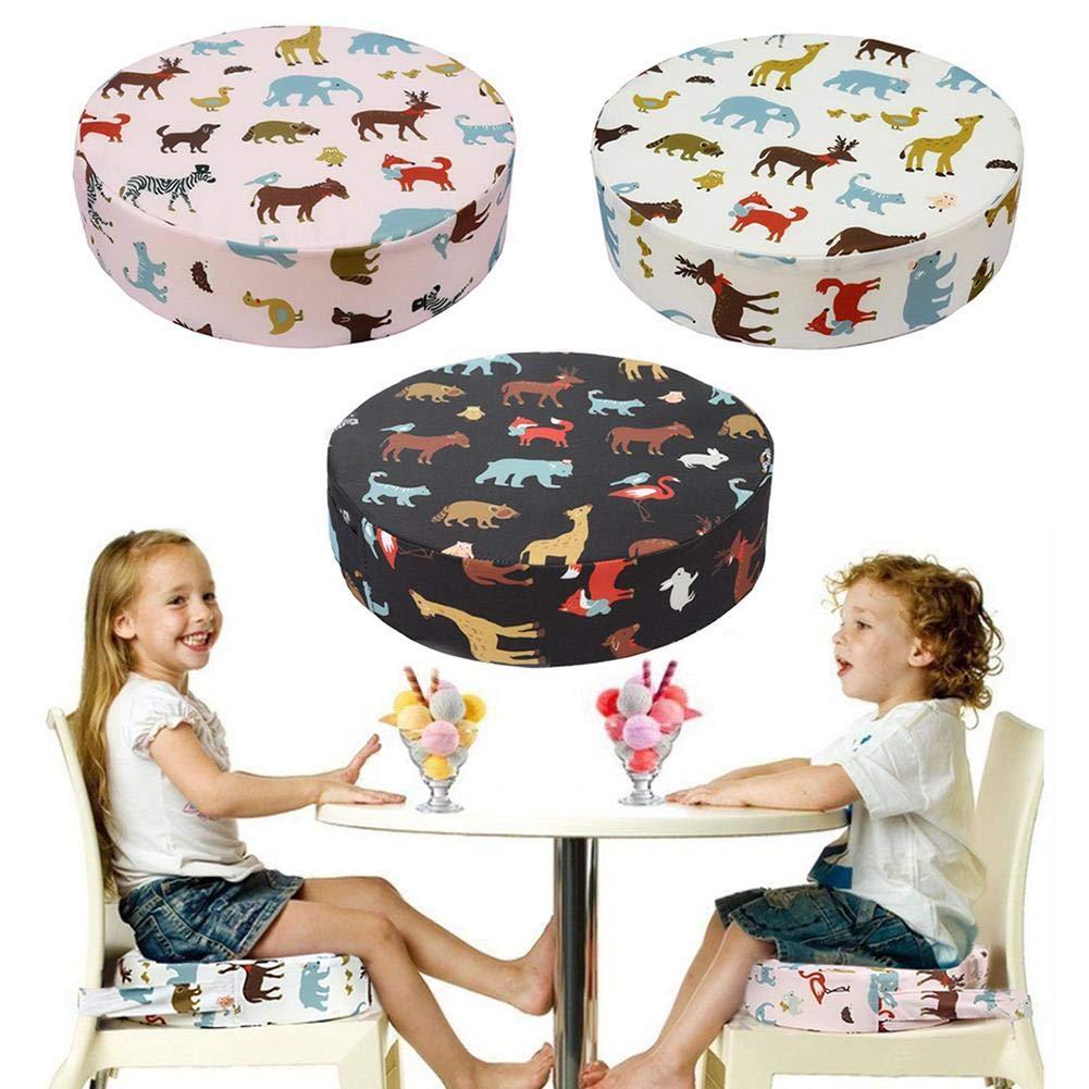 Steadyuf Kinderstuhl//Kindersitzkissen tragbar Kissen Sitzkissen abnehmbar weich und bequem Kindersitzkissen f/ür Kinder Sitzerh/öhung