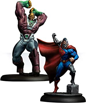 Knight Models Juego de Mesa - Miniaturas Resina DC Comics Superheroe - Cyborg Superman & Mongul: Amazon.es: Juguetes y juegos