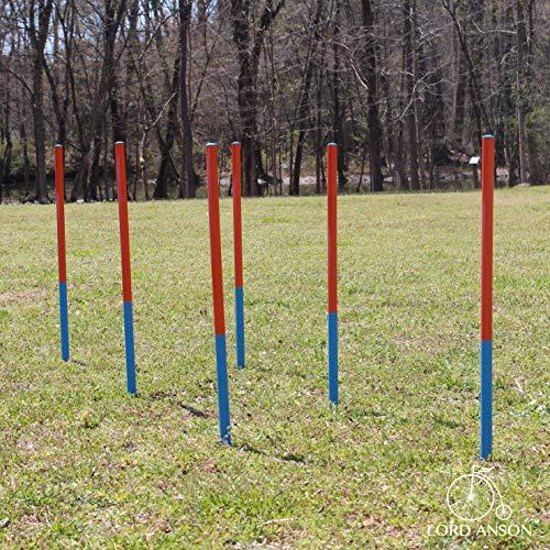 Lord Anson™ Dog Agility Set - Dog Agility Equipment - 1 Dog Tunnel, 6 Weave Poles, 1 Dog Agility Jump - Canine Agility Set for Dog Training, Obedience, Rehabilitation by Lord Anson (Image #6)
