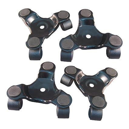 Ajuste Herramientas 3 Rueda Movimiento Dolly para mobiliario pesado rodillo pack de 2