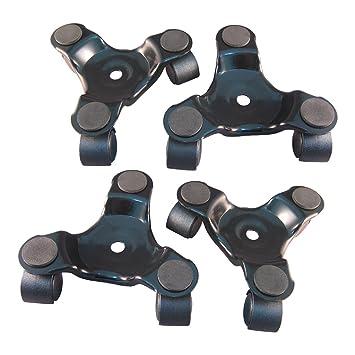 Ajuste Herramientas 3 Rueda Movimiento Dolly para mobiliario pesado rodillo pack de 2: Amazon.es: Bricolaje y herramientas