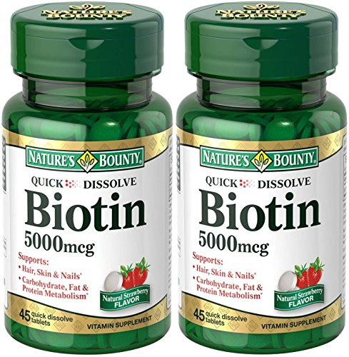 Natures Bounty Dissolve Tablets Bottles