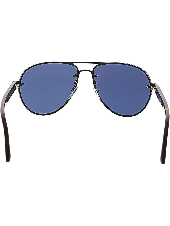 8eb003ba82 Sunglasses Tom Ford FT 0622 Alexei- 02 12V shiny dark ruthenium blue at  Amazon Men s Clothing store