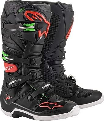 Alpinestars Tech 7 Off-Road Motocross Boot BLACK/RED/GREEN