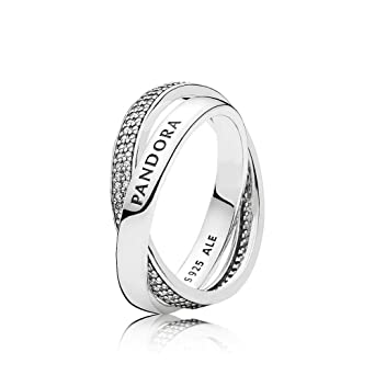 1d0202d77 Image Unavailable. Image not available for. Color: Pandora Women's Promise  Ring ...