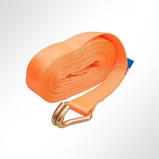 Lysel® Ratschen Zurrgurt Spanngurt 2-teilig 9 Meter orange 5000kg