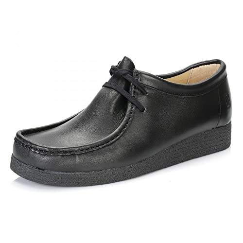 Tower Footwear Tower 1000 Black Napa Leather Shoes 7xqUt