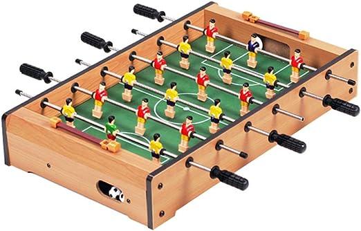 Futbolines Fútbol De Mesa Juguetes para Niños Juguetes Educativos para Niños Juguetes para Niños De 3-10 Años Máquina 6 Asientos Máquina De Juego Familiar Juguetes y Juegos: Amazon.es: Hogar